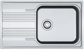 Zlewozmywak stalowy Franke SRL 611-86 XL Len